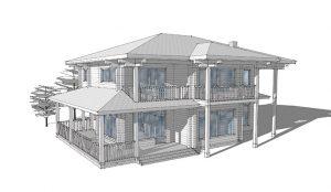 Разработка проекта каркасно панельных домов