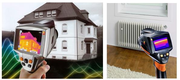 Обследование тепловизором коттеджа или квартиры