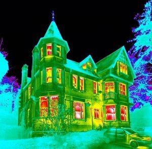 Тепловизионное обследование помещений и зданий