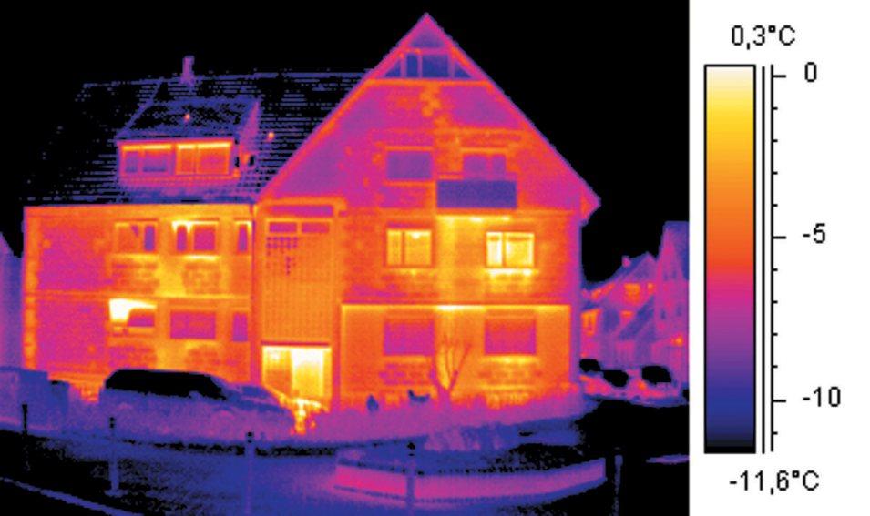 Тепловизор для зданий – надежный способ контроля процесса строительства