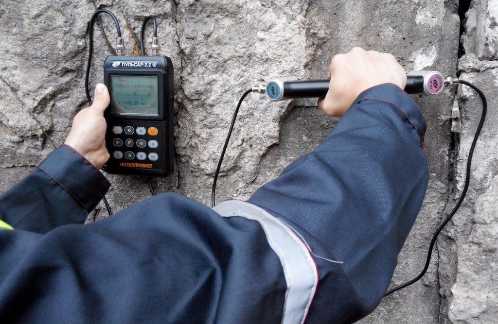 Ультразвуковые испытания бетона