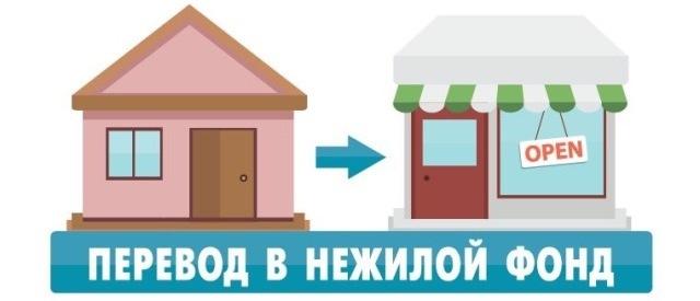 Перевод жилого фонда в нежилой