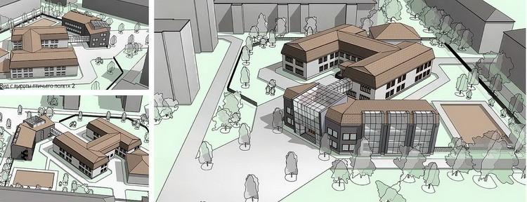 Проект реконструкции зданий
